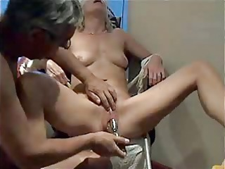 mature tied down and pleasured from inserted