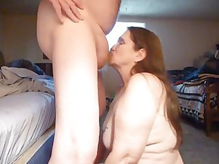 suckin for cream and cum and swallowing ! over