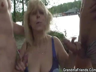 granny takes 6 ramrods from one as well as the