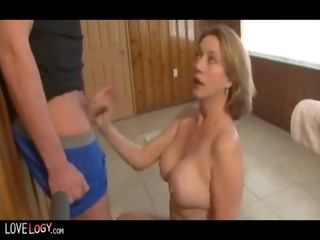 Awesome milf handjobs