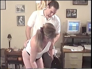 youthful granny giving a oral job