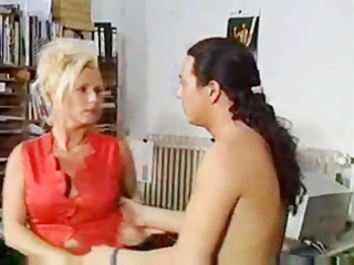 german classic daughter caught the mother with