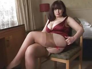 big pantoons mature panty play and striptease