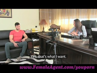 femaleagent. massive cumshot across nice-looking