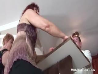 kinky mature whores pole dancing in group sex