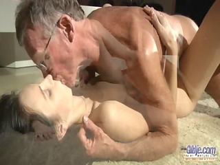 horny lucciana bonks 5 old sausages