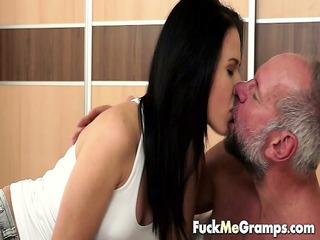 sugardaddy receives a morning blow