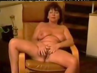 chair masturbation of french carla 86 years aged