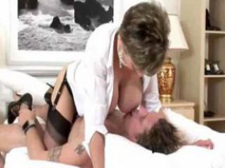 hot milf sex in nylons