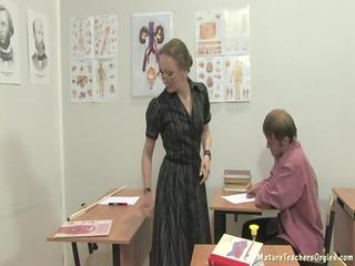 Учительница на собственом