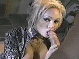 classic milf houston engulfing cock!
