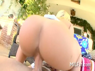wild and lusty cowgirl riding