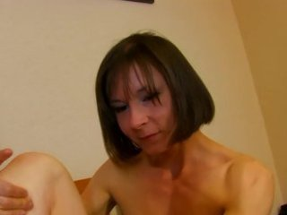 french brunette milf pounded doggy style