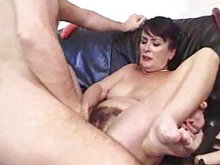 aged and bushy creampie bitches