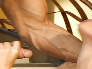 muscular guy rams hawt ashley blue on a couch