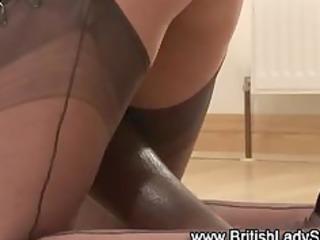 mature brit femdom interracial blowjob spunk