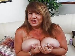 mature momma with supplementary huge bosom sticks