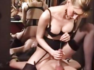 kinky aged dominatrix bizarre cbt and watersports