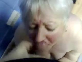 cumming in throat of my old aunt !!