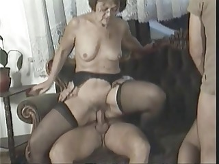 anal fuckfest with sexy aged sweethearts who love