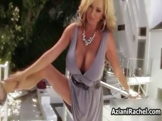 sexy blonde mother i goes insane dildo part5