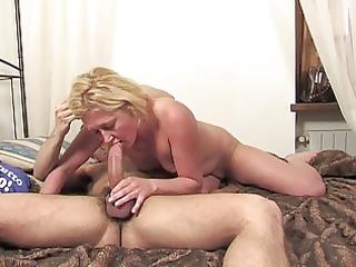 pretty blonde milf kim