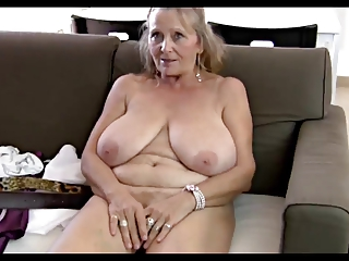 93yr old unshaved busty granny isabel shows all