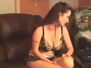 busty milf on web camera