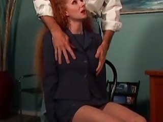redhead mom humiliated by the neighbor