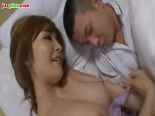 concupiscent japanese mom receives her nipples