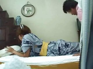 young wife home massage part 2