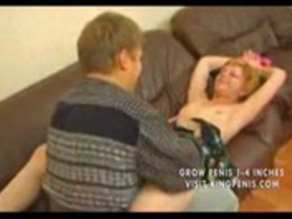 russian milf pounded on daybed
