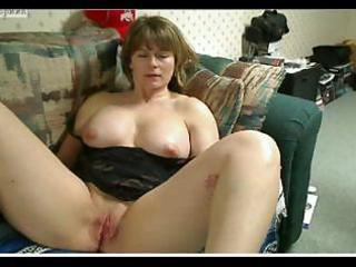 fat aged mmf mussing her wet cunt and recording