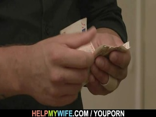 old chap pays him to fuck his youthful wife