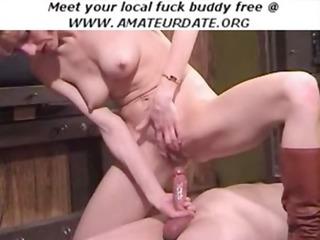 milf amateur homemade squirt spunk flow on cock