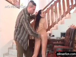 older doxy in unshaved cunt acquires ass toyed