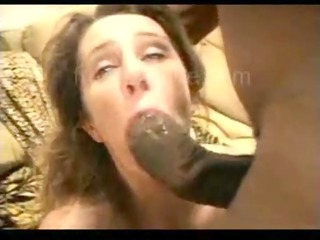 she took 68 inches - anal interracial